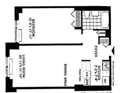 Unit 5V at 200 Rector Place, New York, NY 10280