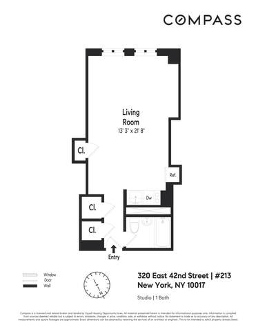 Unit 213 at 320 East 42nd Street, New York, NY 10017