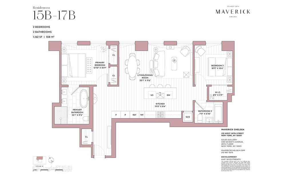 Unit 16B at 215 West 28th Street, New York, NY 10001
