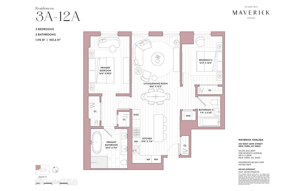 Unit 5A at 215 West 28th Street, New York, NY 10001