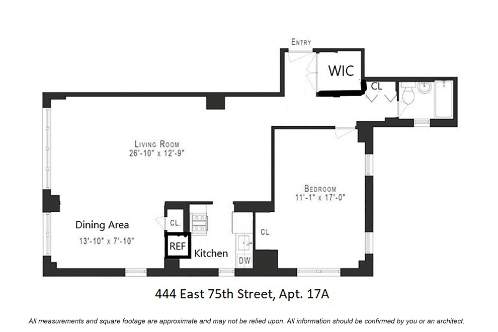 Unit 17A at 444 East 75th Street, New York, NY 10021