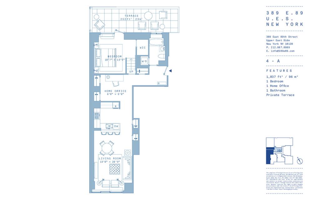 Unit 4A at 389 East 89th Street, New York, NY 10128