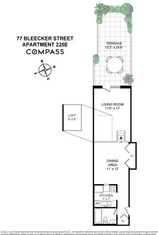 Unit 225E at 77 Bleecker Street, New York, NY 10012