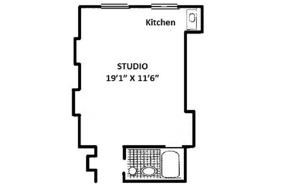 Unit 1524 at 5 Tudor City Place, New York, NY 10017