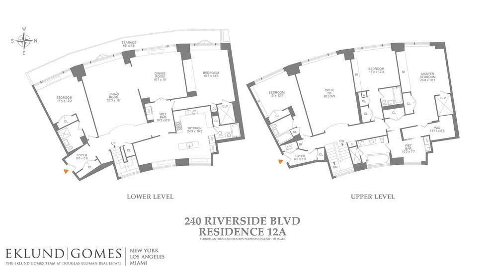 Unit 14A at 240 Riverside Boulevard, New York, NY 10069