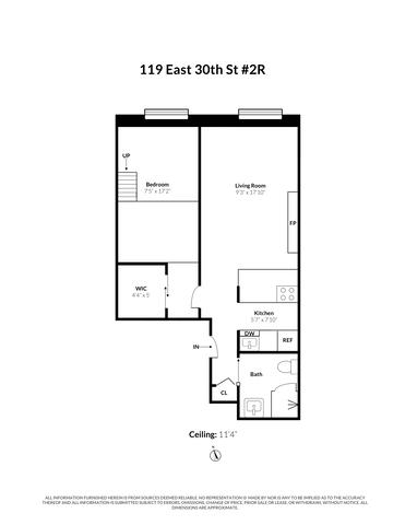 Unit 2B at 119 East 30th Street, New York, NY 10016
