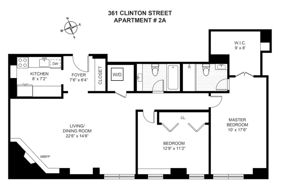 Building at 361 Clinton Street, Brooklyn, NY 11231