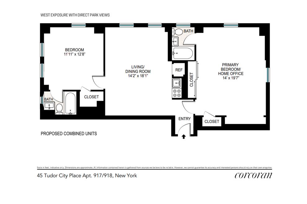 Unit 917918 at 45 Tudor City Place, New York, NY 10017