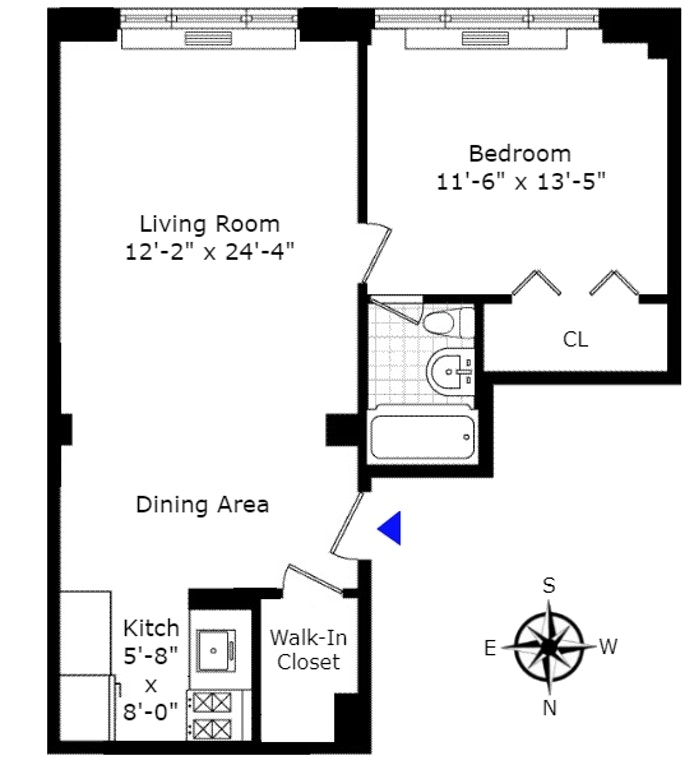321 East 45th Street 1f New York Ny 10017 Sales Floorplans