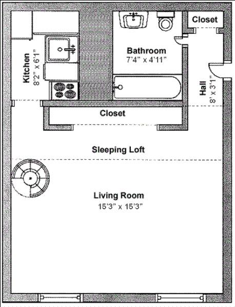 Unit 8I at 56 West 82nd Street, New York, NY 10024