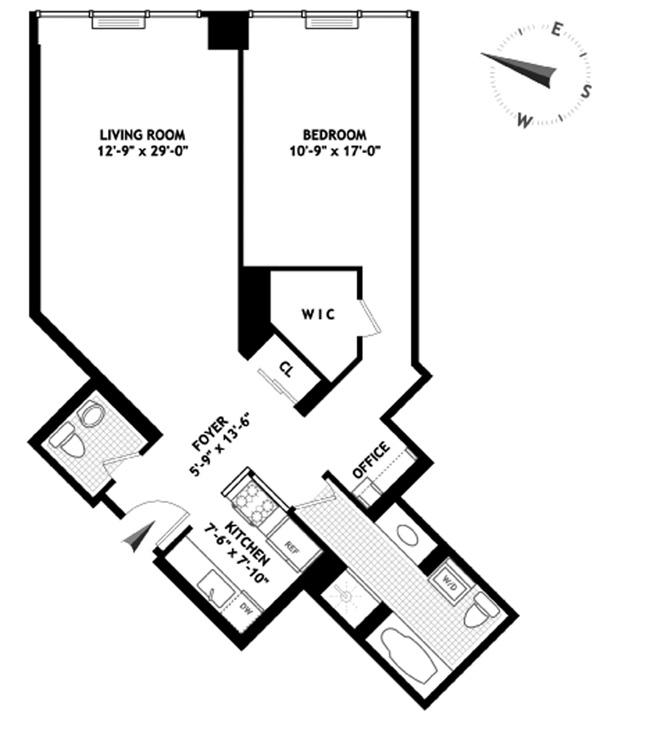 Floorplans At 146 West 57th Street New York Ny 10019