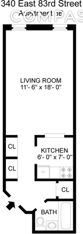 Unit 5B at 340 East 83rd Street, New York, NY 10028