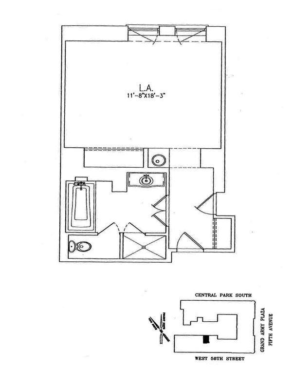 Unit 1332 at 768 5th Avenue, New York, NY 10019