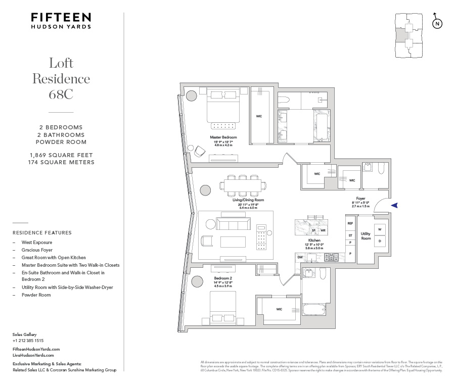 Floorplans At 15 Hudson Street New York Ny 10013