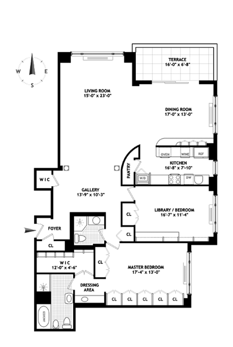 Floorplans at 150 East 69th Street, New York, NY 10065