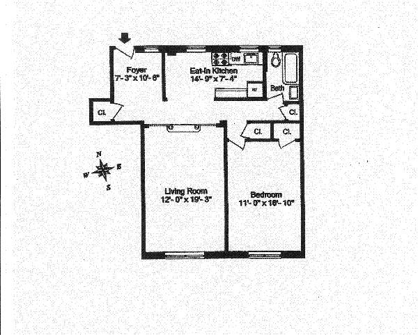 Unit 3H at 736 West 186th Street, New York, NY 10033