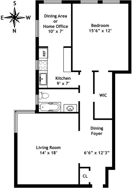 Unit 2A at 736 West 186th Street, New York, NY 10033