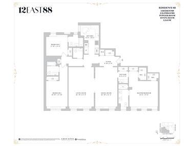 Unit 8B at 12 East 88th Street, New York, NY 10128