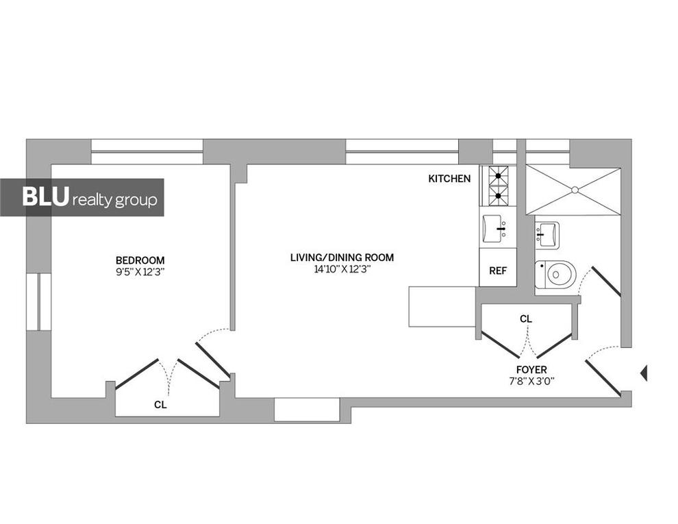 Unit 1A at 66 West 84th Street, New York, NY 10024