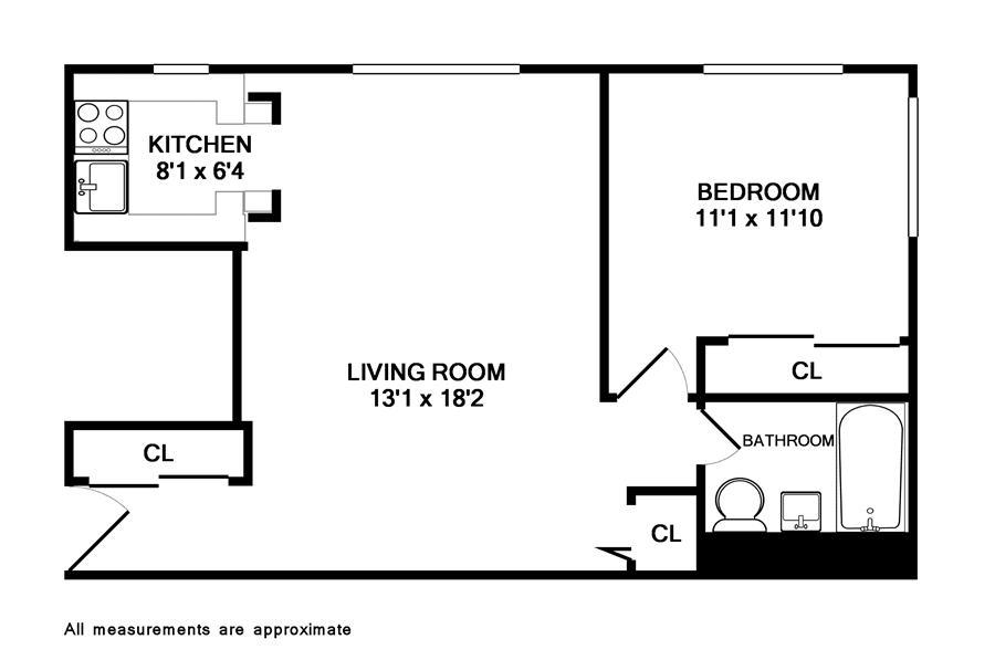 Unit 4D at 61 Lexington Avenue, New York, NY 10010