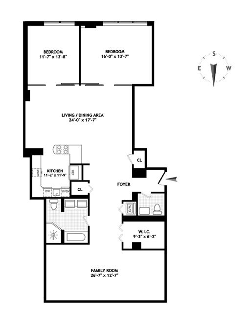 Unit 2A at 245 7th Avenue, New York, NY 10001