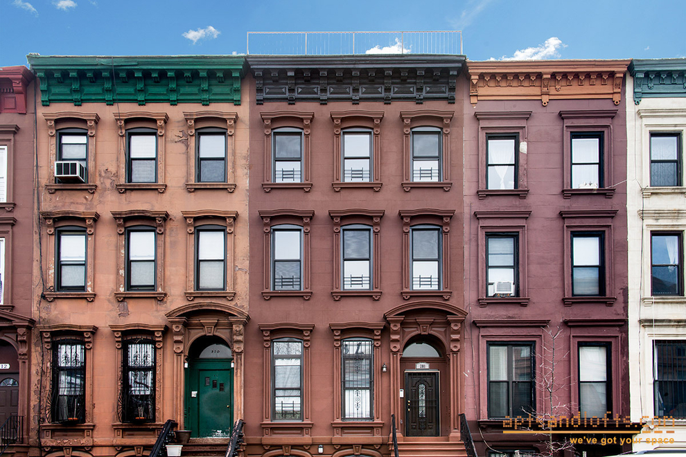 Building at 208 Lefferts Place, Brooklyn, NY 11238