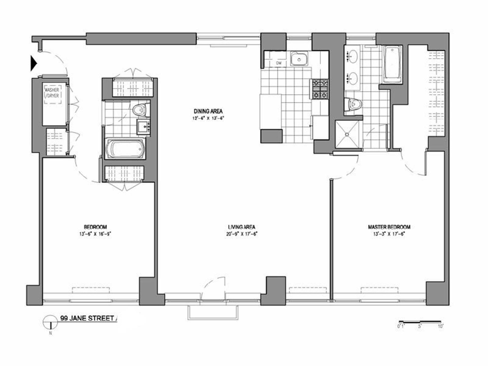Floorplans At 99 Jane Street New York NY 10014
