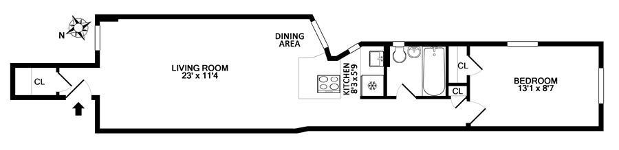 Unit 2B at 20 East 88th Street, New York, NY 10128