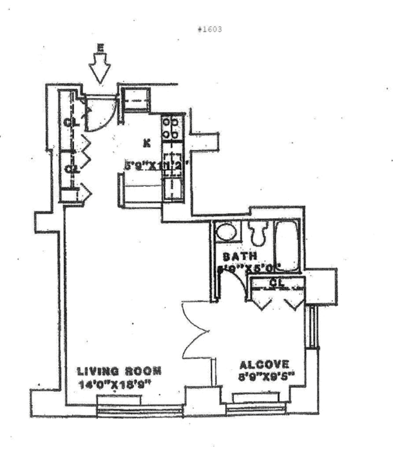 400 East 70th Street 1503 New York Ny 10021 Sales Floorplans