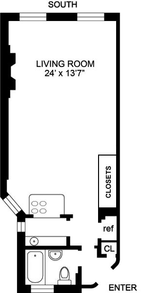 Unit 3C at 436 East 58th Street, New York, NY 10022