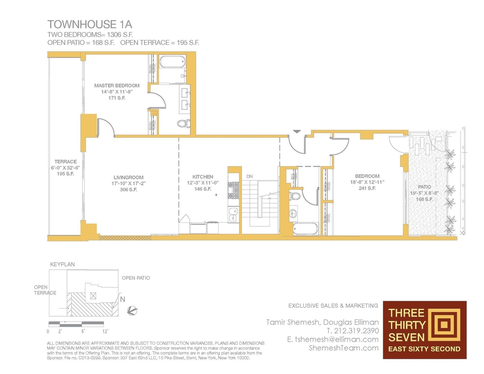 Unit TOWNHOUSEA at 337 East 62nd Street, New York, NY 10065