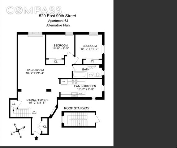 Unit 6J at 520 East 90th Street, New York, NY 10128