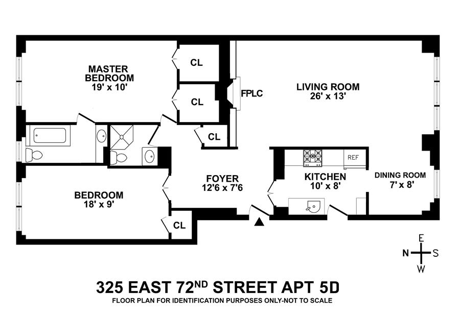 Unit 5D at 325 East 72nd Street, New York, NY 10021