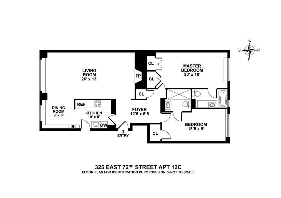Unit C12 at 325 East 72nd Street, New York, NY 10021