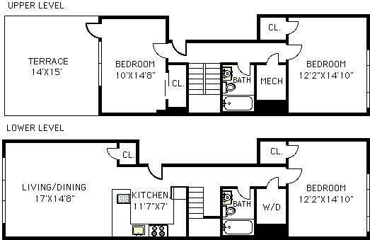 Unit 3A at 39 Madison Street, Brooklyn, NY 11238