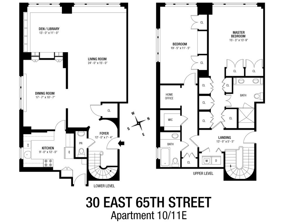 Unit 1011E at 30 East 65th Street, New York, NY 10065