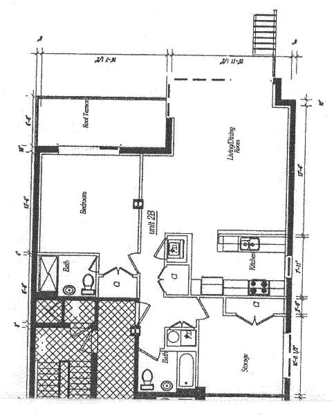 Unit 2B at 117 South 3rd Street, Brooklyn, NY 11249