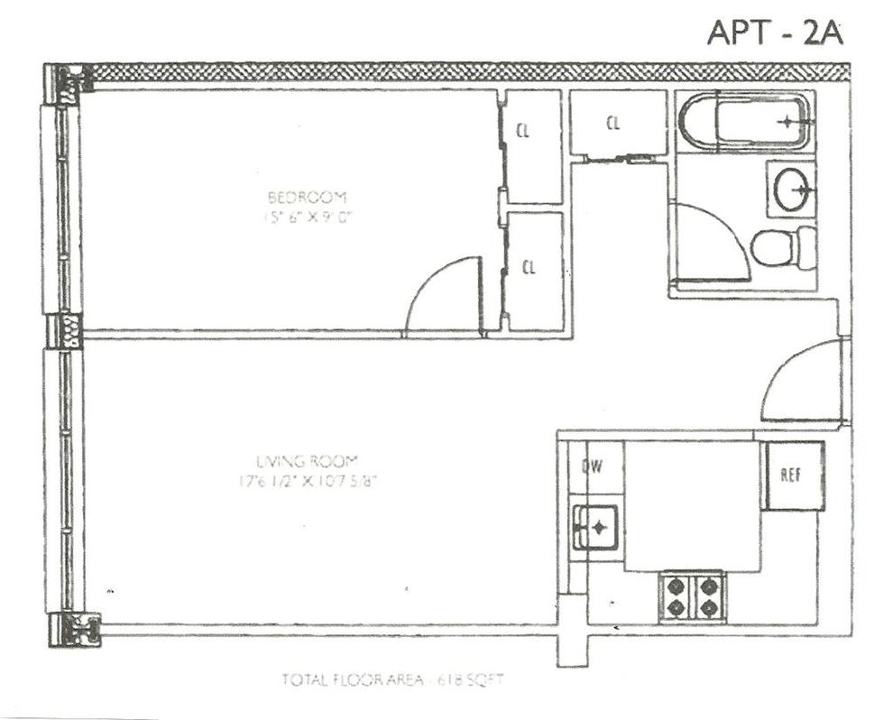 Unit 2A at 30-94 Crescent Street, Astoria, NY 11102
