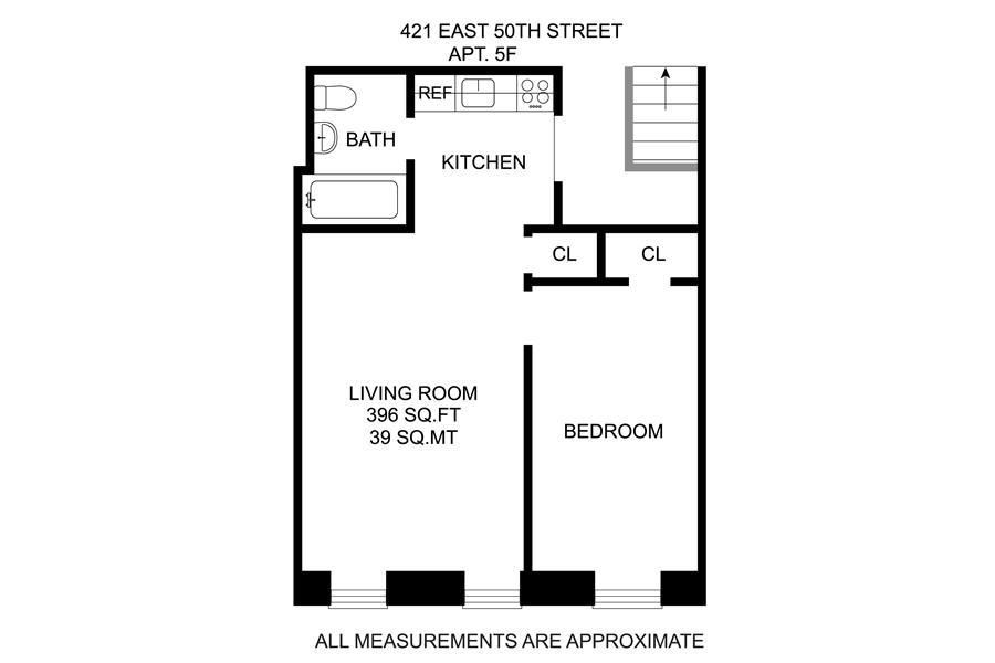 Unit 5F at 421 East 50th Street, New York, NY 10022