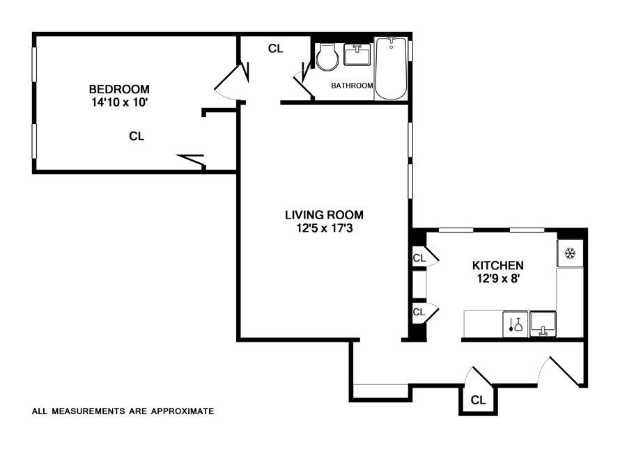 Unit 2B at 325 East 80th Street, New York, NY 10075