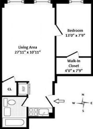 Unit 2A at 322 West 88th Street, New York, NY 10024