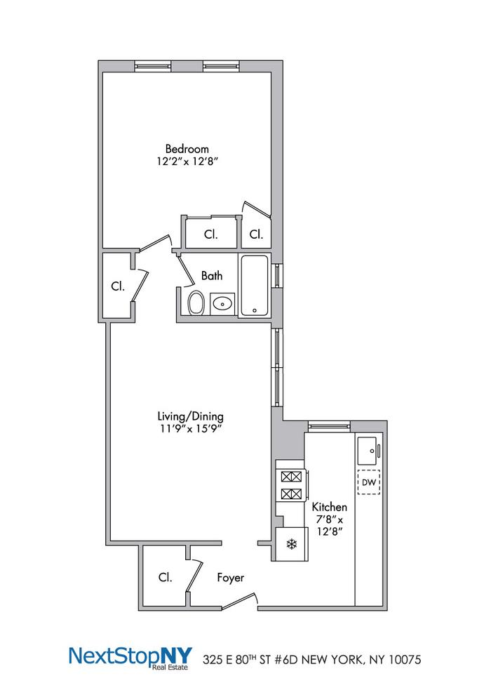Unit 6D at 325 East 80th Street, New York, NY 10075