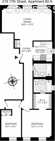 Unit 2A at 219 17th Street, Brooklyn, NY 11215