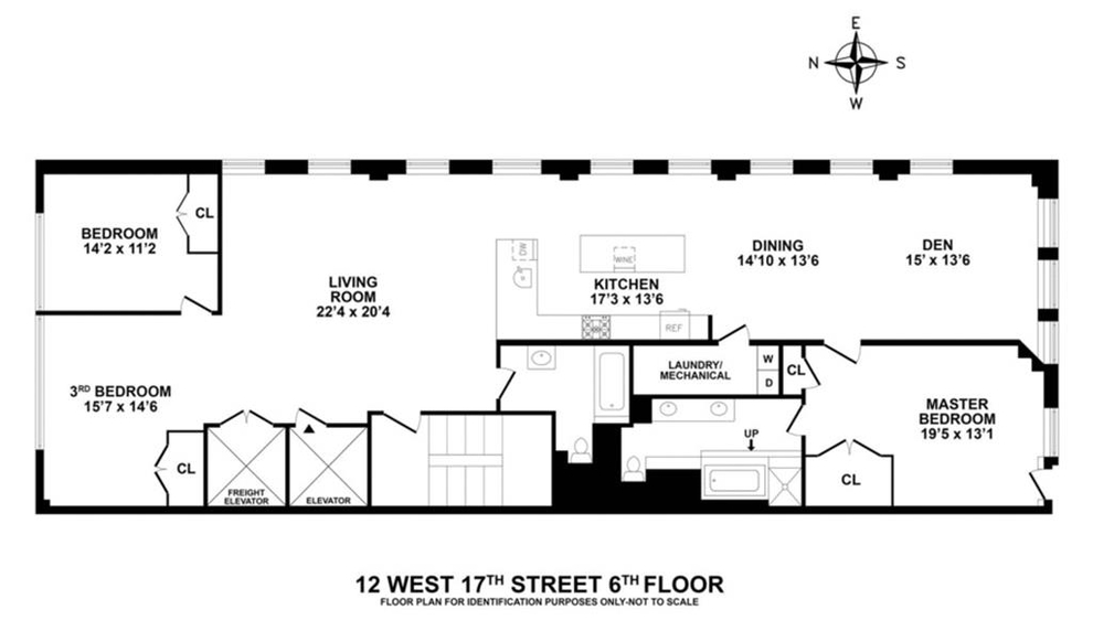 Unit 6FL at 12 West 17th Street, New York, NY 10011