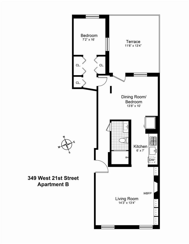 Unit B at 349 West 21st Street, New York, NY 10011