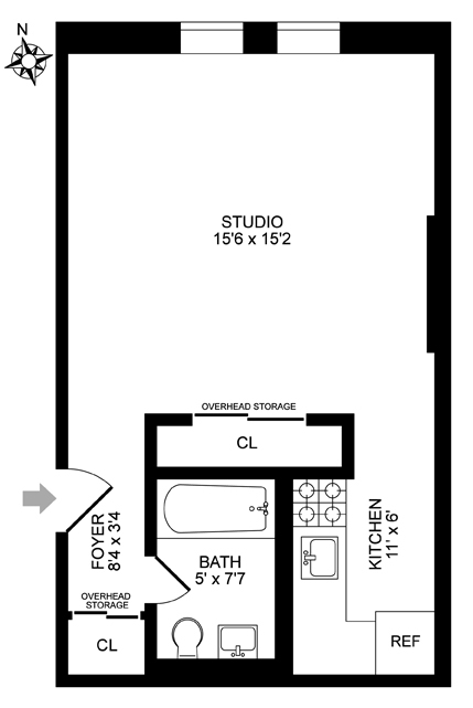 Unit 16 at 56 West 82nd Street, New York, NY 10024