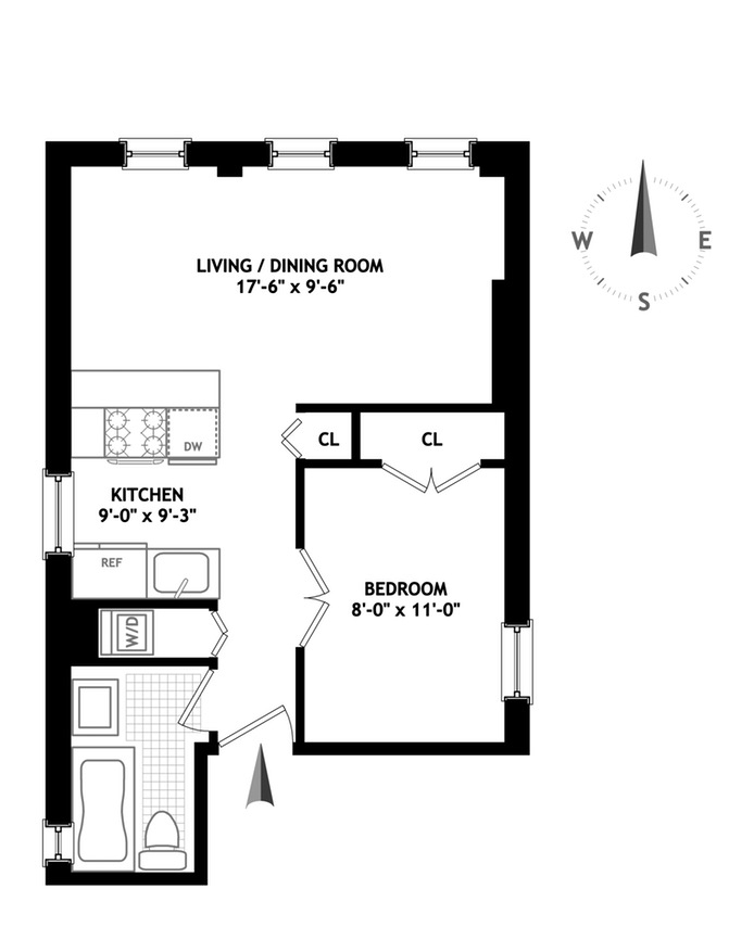 Unit 3R at 403 East 90th Street, New York, NY 10128