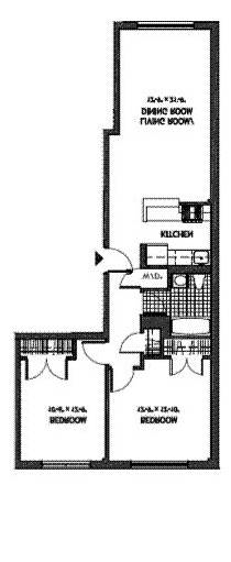 Unit 4A at 50 East 129th Street, New York, NY 10035