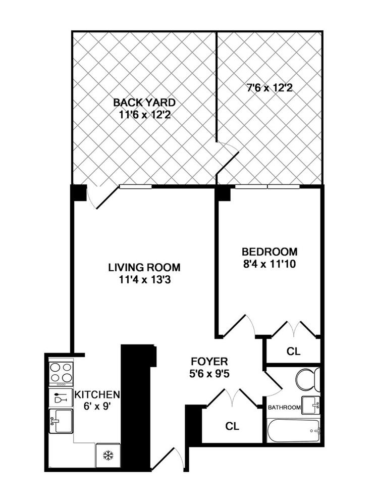 Unit BD at 55 West 83rd Street, New York, NY 10024
