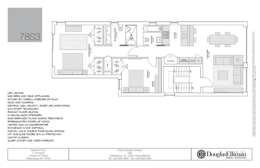 Unit 2 at 78 South 3rd Street, Brooklyn, NY 11249